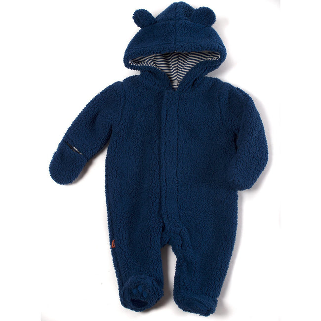 Magnetic Bears Fleece Pram - Blueberry