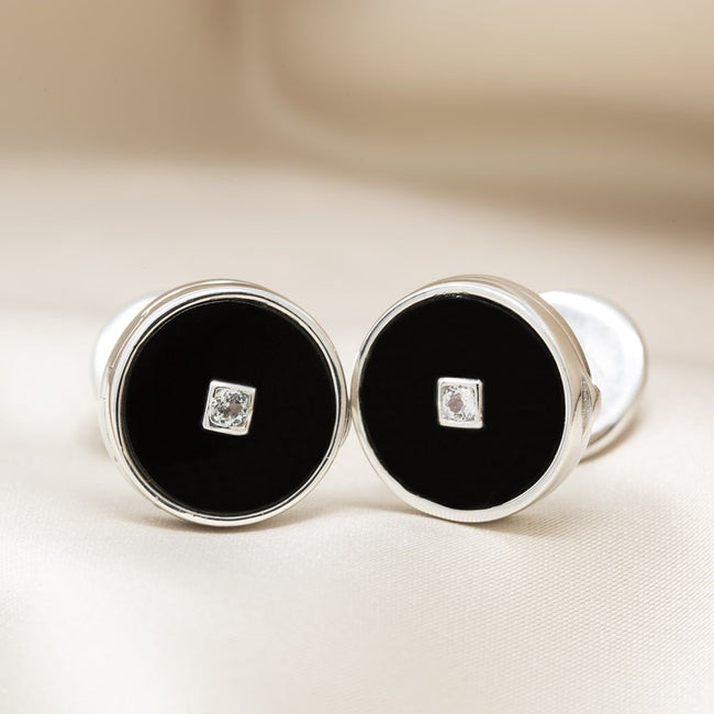 Ryan Locket Cufflinks - Sterling Silver