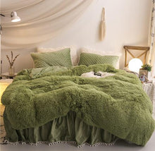 Load image into Gallery viewer, Luxury Plush Shaggy Duvet Cover Set - decoratebyyou