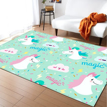 Load image into Gallery viewer, Child Unicorn 3D Carpets - decoratebyyou