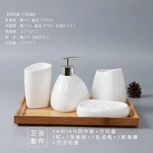 Load image into Gallery viewer, Bathroom Ceramics Accessories Set - decoratebyyou