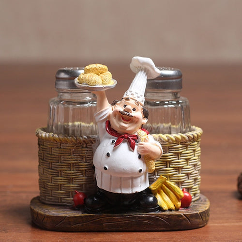 Cute Chef Pepper Bottle Ornaments - decoratebyyou