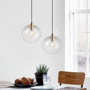 Modern Living room/Bedroom Glass Ball Hanging Lights - decoratebyyou