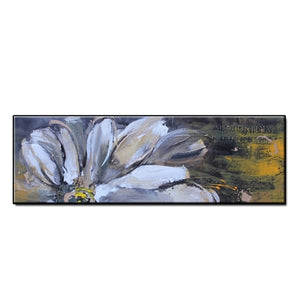 Original Hand Painted Abstract flowers landscape oil painting on canvas Wall art Pictures for Living Room home decor no framed - decoratebyyou
