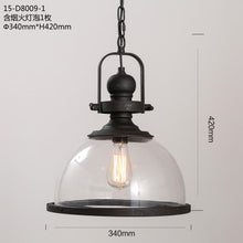 Load image into Gallery viewer, Loft Vintage Iron Pendant Lights - decoratebyyou