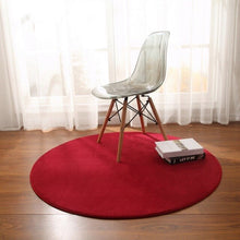 Load image into Gallery viewer, Fleece Round Carpet - decoratebyyou