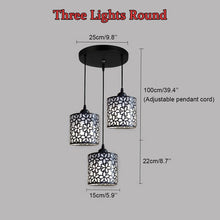 Load image into Gallery viewer, Modern iron Hollow Out Hanging Pendant Lamp - decoratebyyou