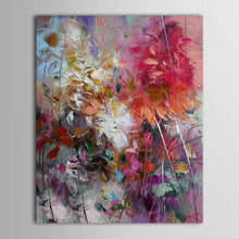 Load image into Gallery viewer, Floral Purple Abstract Oil Painting - decoratebyyou