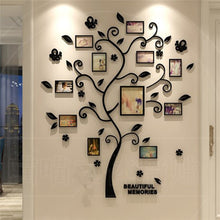 Load image into Gallery viewer, 3D Family Tree Wall Sticker - decoratebyyou
