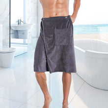 Load image into Gallery viewer, Man Bath Towel With Pocket - decoratebyyou