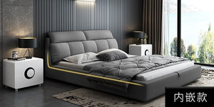Simple modern double bed - decoratebyyou