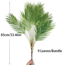 Load image into Gallery viewer, Plastic Artificial Palm Leaf Plants - decoratebyyou