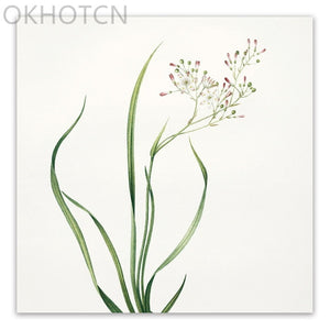 Small Flower Plant Wall Art - decoratebyyou