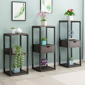Indoor flower rack wrought iron - decoratebyyou