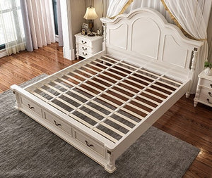 European type double bed master bedroom - decoratebyyou