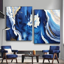 Load image into Gallery viewer, 2 Pcs Hand Painted Abstract Oil Painting on Canvas - decoratebyyou