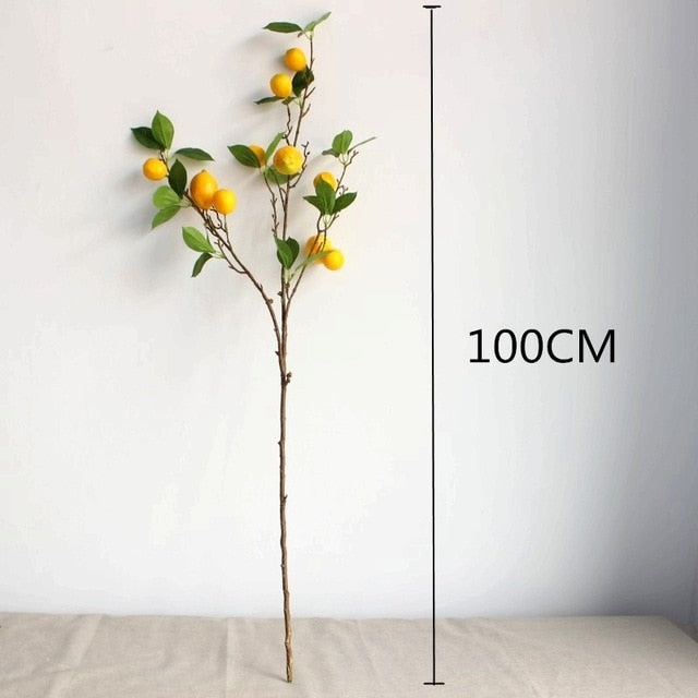 Three Combined Fruit Tree Branches Artificial Plant - decoratebyyou