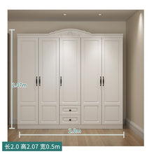 Load image into Gallery viewer, Wardrobe and Top Cabinet Simple Modern - decoratebyyou