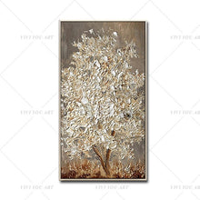 Load image into Gallery viewer, Hand Painted Knife Gold Tree - decoratebyyou