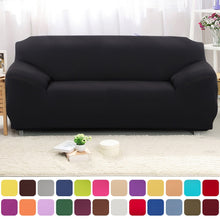 Load image into Gallery viewer, Solid Color Plush  Elastic Sofa Cover - decoratebyyou