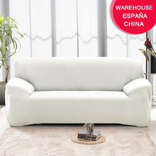 Load image into Gallery viewer, Elastic White Sofa Cover - decoratebyyou