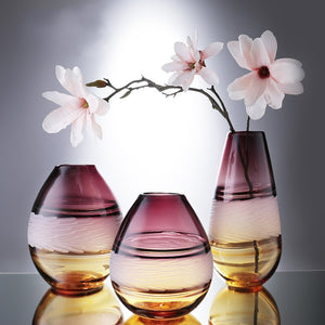 Flowers Glass Vases - decoratebyyou