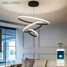 Load image into Gallery viewer, modern hanging lamp for living room - decoratebyyou