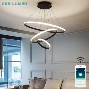 modern hanging lamp for living room - decoratebyyou