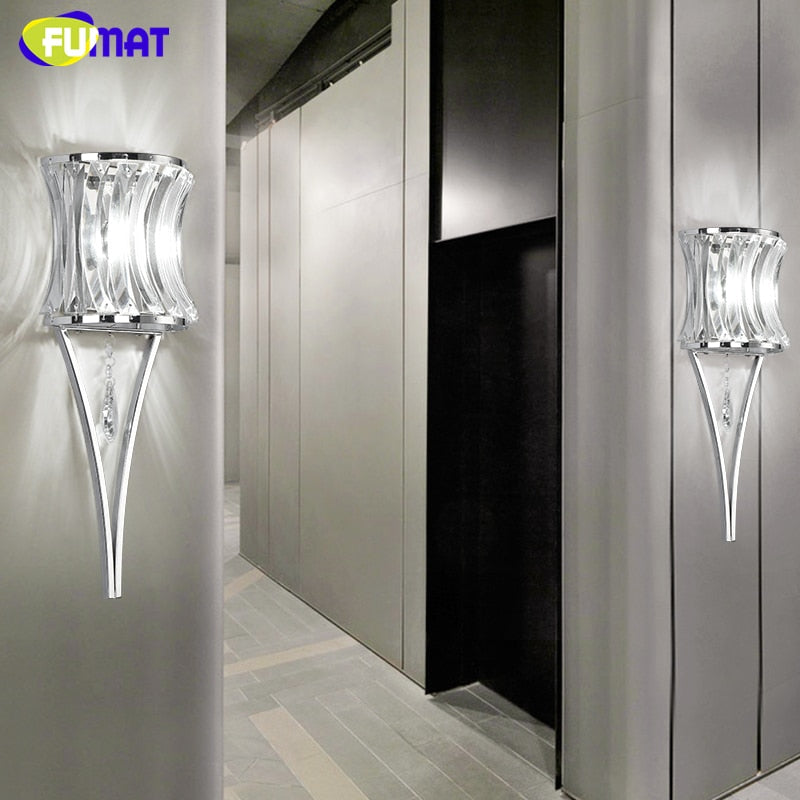 Crystal Wall Lamp Sconces - decoratebyyou