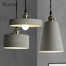 Load image into Gallery viewer, Modern Pendant Lights Loft Cement - decoratebyyou