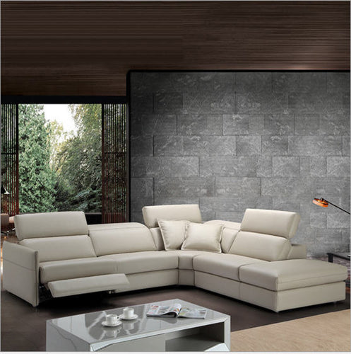 Living Room corner sofa recliner electrical couch genuine leather - decoratebyyou