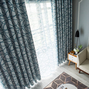 Printed Blackout Curtains for Living Room - decoratebyyou