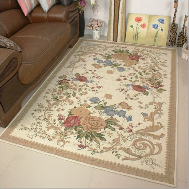 Europe Pastoral Village Carpets - decoratebyyou