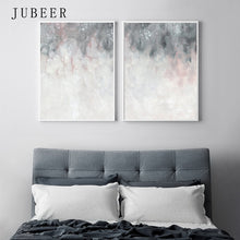 Load image into Gallery viewer, Pink Grey Wall Art - decoratebyyou