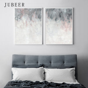 Pink Grey Wall Art - decoratebyyou