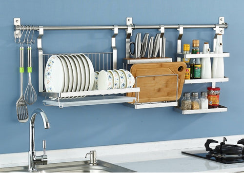 Stainless Steel Kitchen Storage Rack - decoratebyyou