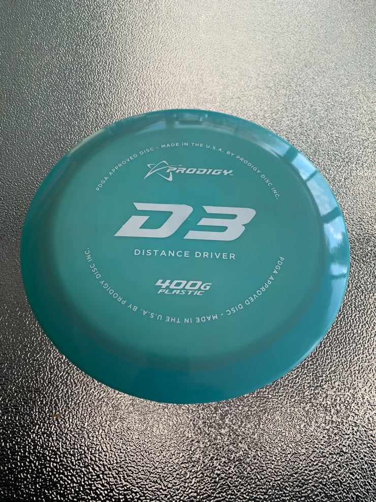 D3 173 gr 400g plastic  light blue green