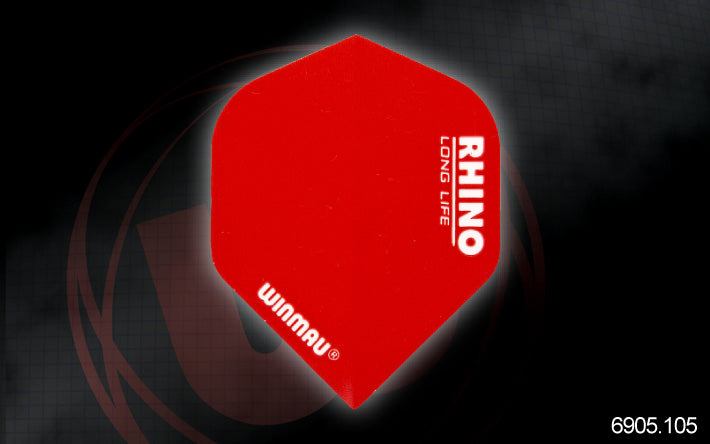 Rhino standard extra thick flights  red