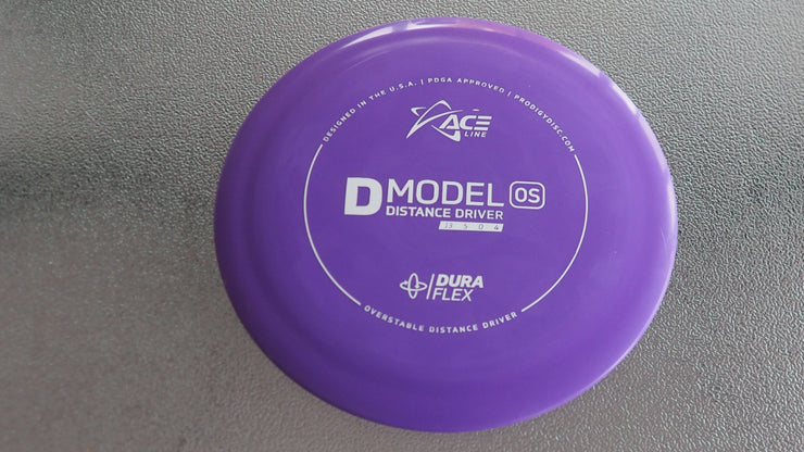 Purple D-model 173  OS  Stamped underside