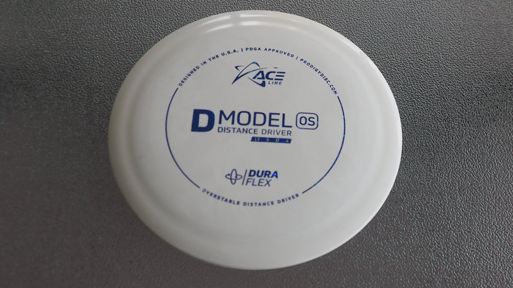 D-Model OS 174g white  under stamped