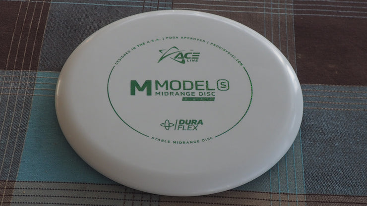 Ace m-s duraflex  white  178gr  under stamped