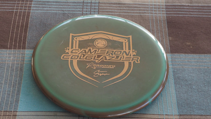 178 green gold M-3 500 plastic under stamped