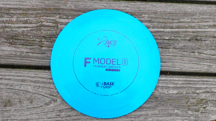 ACE LINE F MODEL S - BASEGRIP PLASTIC 172 blue
