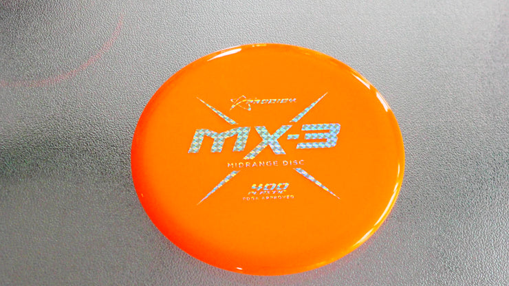 PRODIGY MX-3 400 PLASTIC 178 g  orange