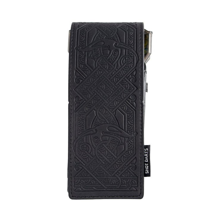 Shot Darts Insignia Dart Case - Viking Black Embossed