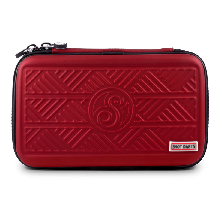 Shot Tactical Darts Case-Two Set Dart Wallet-Red