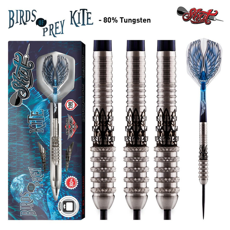 Birds of Prey Kite Steel Tip Dart Set