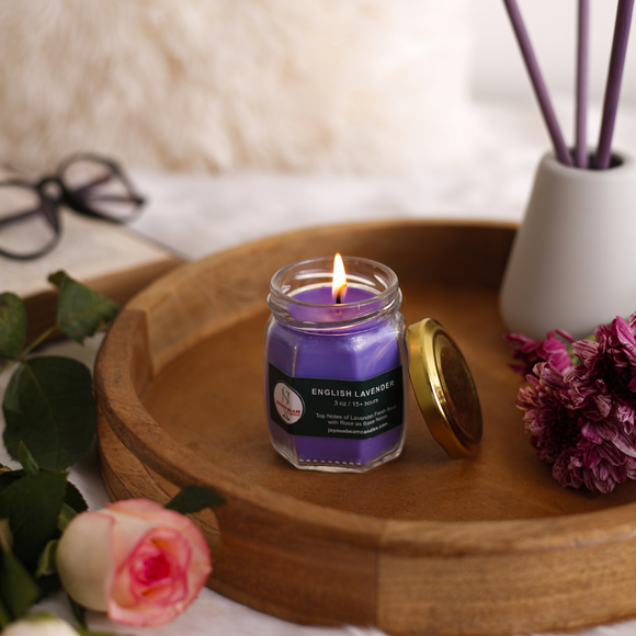 English Lavender Soy Candle
