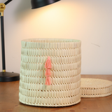 "Palm 10"" Basket with a lid"