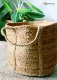 "The Classic Jute Basket (11"")"